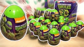 Teenage Mutant Ninja Turtles 2 TMNT Movie Nickelodeon 18 Kinder Surprise Eggs
