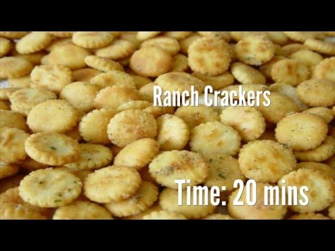 Ranch Crackers Recipe