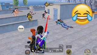 Trolling Blind Noobs 🤣🤪   PUBG MOBILE FUNNY MOMENTS