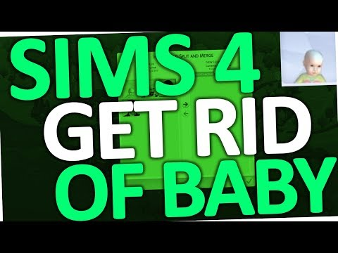 Sims 4 - How to get rid of Baby (Put up for Adoption)