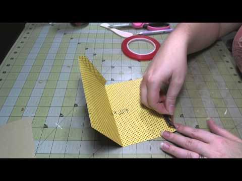 Scrapbook Tutorial: Scalloped Opening Pocket