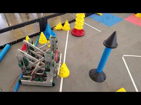 Vex In The Zone Design #1 Simple Autonomous