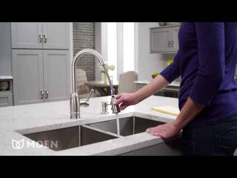 Noell One Handle High Arc Kitchen Faucet