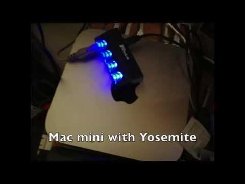 Windows laptop  and  Mac mini file sharing