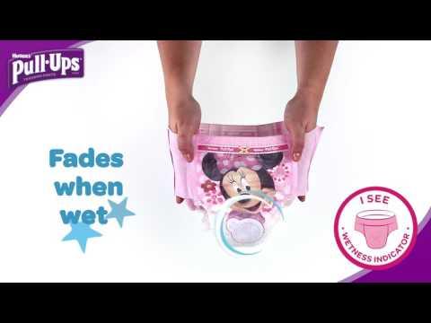 Wetness Indicator | Huggies® Pull-Ups®
