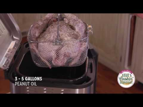 How to fry a turkey - What's cooking Wednesday