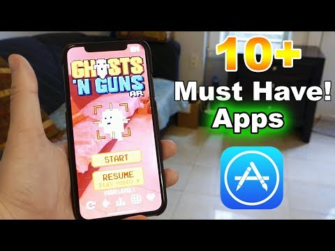 10+ Best Apps for the iPhone X in 2018 - Must Have!!