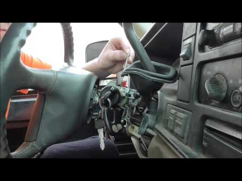 Ignition replacement on 95-98 gm trucks