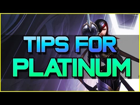 ✔ GETTING OUT OF PLATINUM | League of Legends