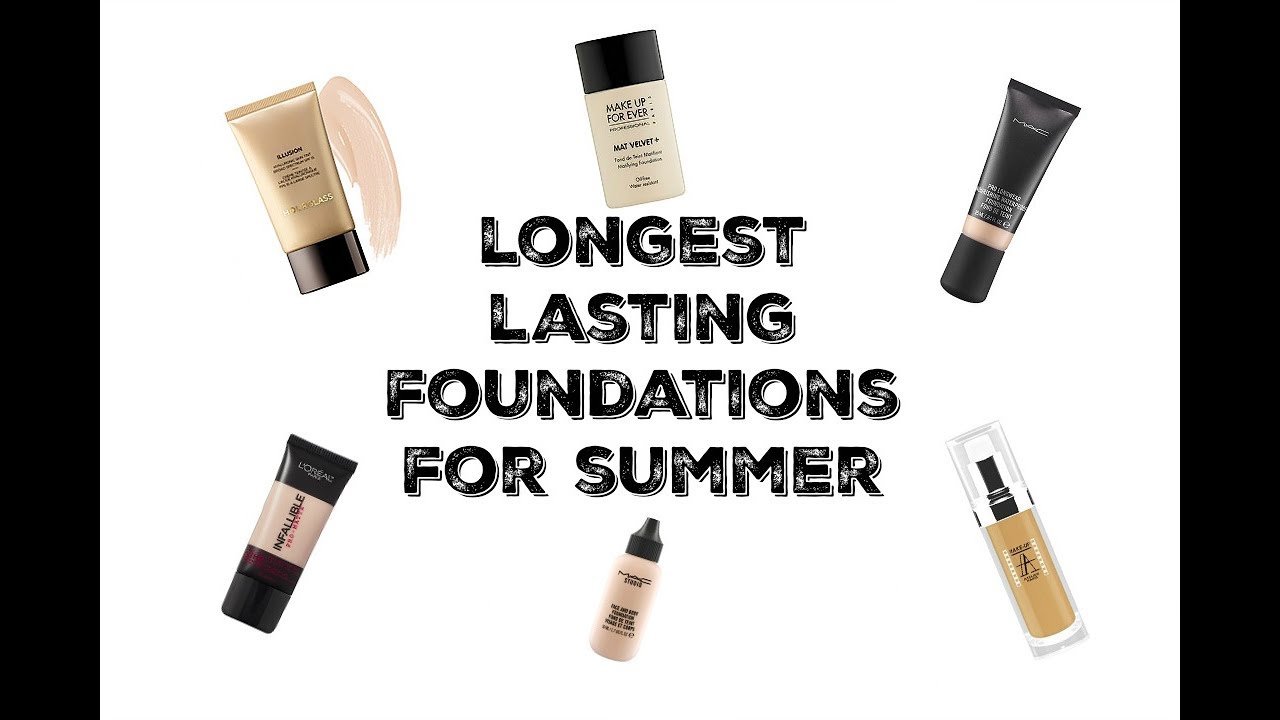 My Favorite Long Lasting Foundations for Summer | Mandy Davis MUA