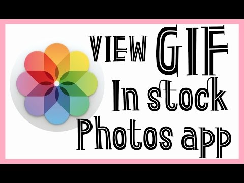 HOW TO VIEW GIF IN STOCK PHOTOS APP OF IPHONE/IPAD/IPOD (VIEW IN STOCK PHOTOS APP)