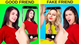 Fake Friends vs Real Friends/ Funny Relatable Situations