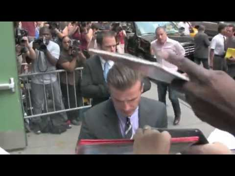David Beckham Manchester United's legend is  to Bring Olympic Torch to Britain