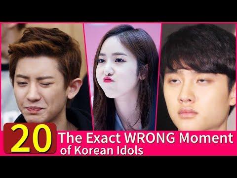 [20 Photos] The Exact WRONG Moment of Korean Idols