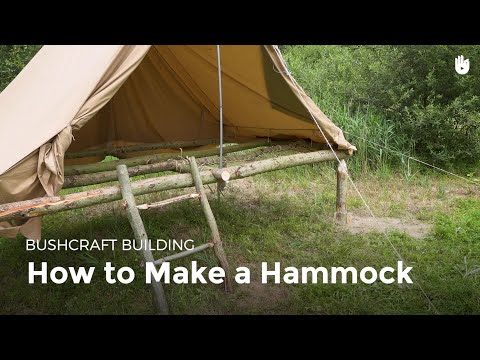 How to Make a Hammock | Bushcraft