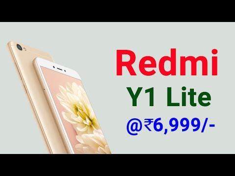 Redmi Y1 Lite Mobile - #MIY1 Look, Price, Buy Online (Amazon, Flipkart,snapdeal)