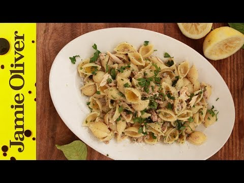 Super-Quick Pasta Sauces: Tuna and Lemon with the Chiappas