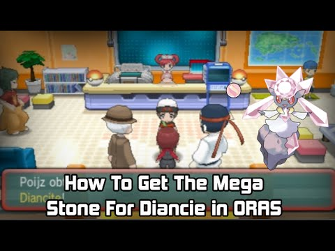 How to get the Mega Stone For Diancie in Pokémon Omega Ruby & Alpha Sapphire [ORAS]  Tutorial.