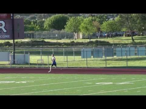 4x400M relay Redwood High v Terra Linda & Marin Catholic April 29, 2010