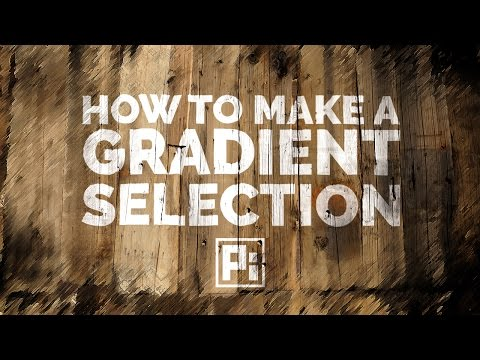 How to Make a Selection of Gradient in Photoshop
