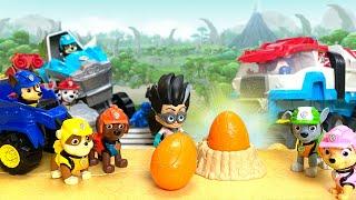 Paw Patrol Saves the Stolen Dino Eggs Parody || Parody clips with Keith's Toy Box