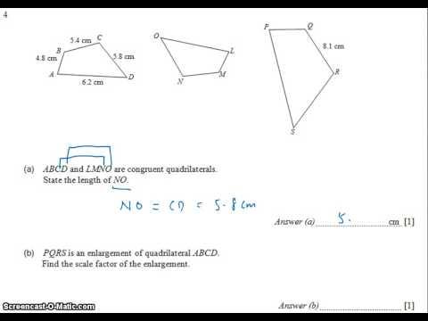 GCE NA Level 2009 P1 Q4