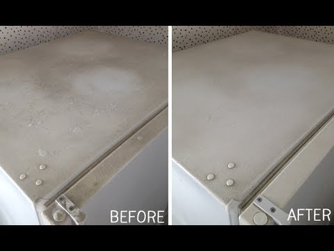 How to clean White appliances in your house !!!