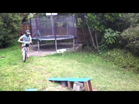 Backyard Jump Biking