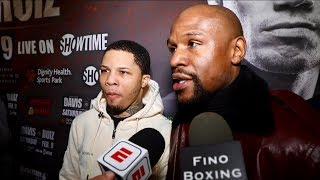 FLOYD MAYWEATHER & GERVONTA DAVIS IMMEDIATELY REACTION TO FIRST ROUND KNOCKOUT