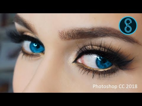 How to change eye color in Photoshop CC 2018