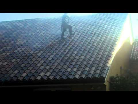 Tile Roof Pressure Washing Maintenance 2-  Miami, FL- Istueta Roofing