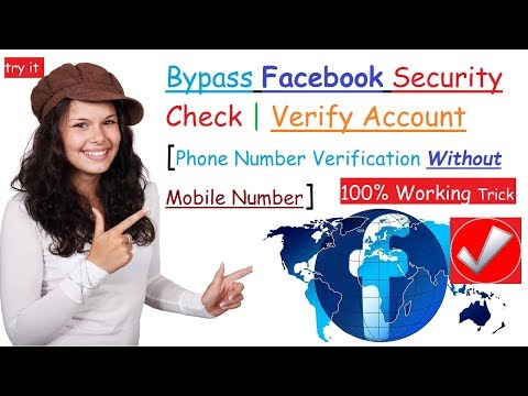{100% Working} Bypass Facebook Security Check | Verify Account Without Phone Number