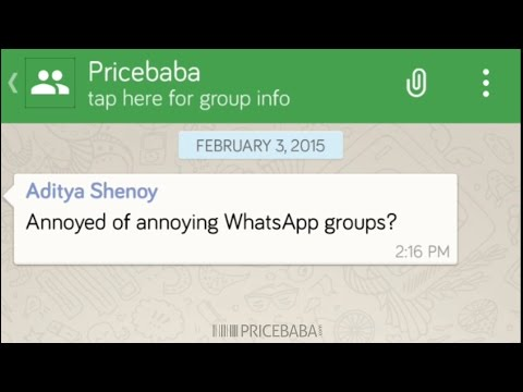 Mute WhatsApp Groups on Android