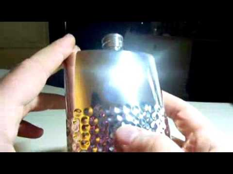 Pewter Flask with Hammered Design and Silver Finish   6 Ounce   Handmade in England   BONUS Pewter F