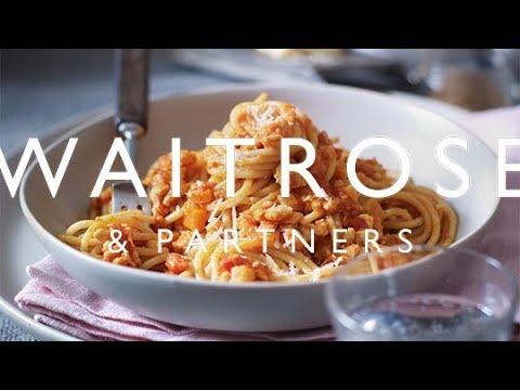Parky's Top Table | Tom Kerridge's Spaghetti Bolognese | Waitrose