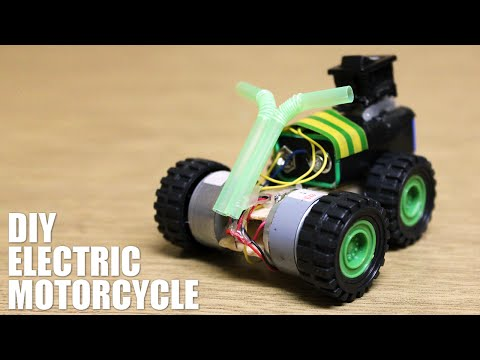 How to make an electric motorcycle - DIY electric toys
