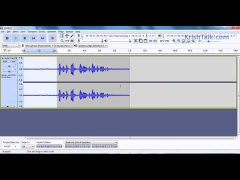 How to remove noise from your audio using Audacity