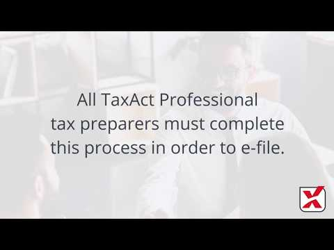 TaxAct Professional | EFIN Verification Step-by-Step