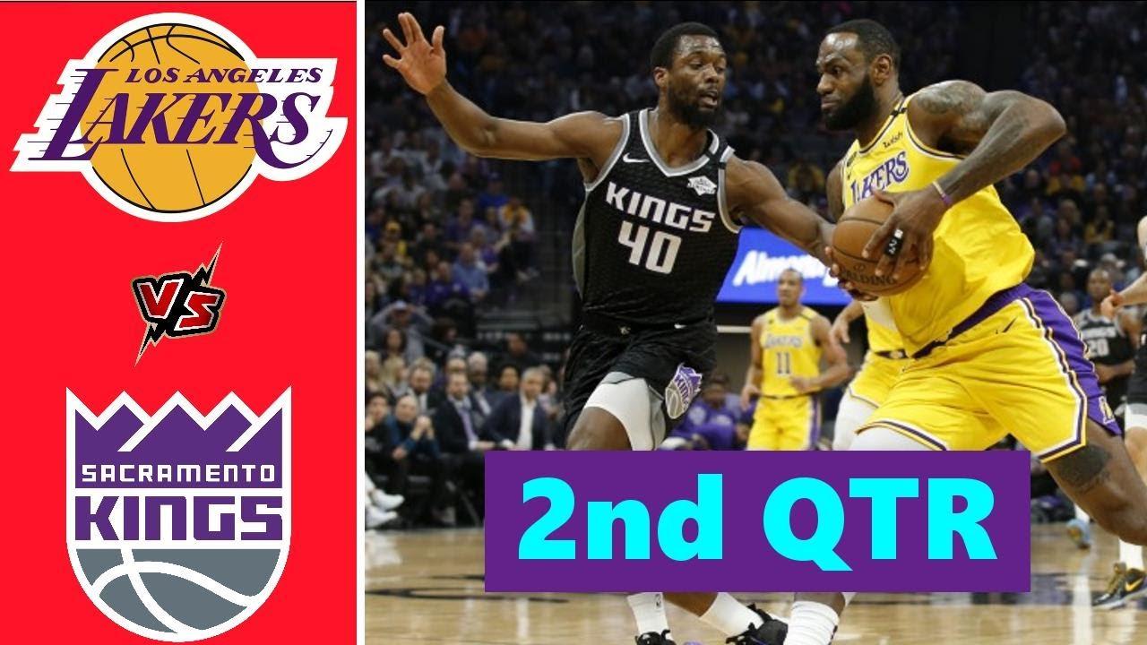 Los Angeles Lakers vs. Sacramento Kings Full Highlights 2nd Quarter | NBA Season 2021