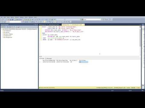 SQL Server Find Expiry Date of SQL Server