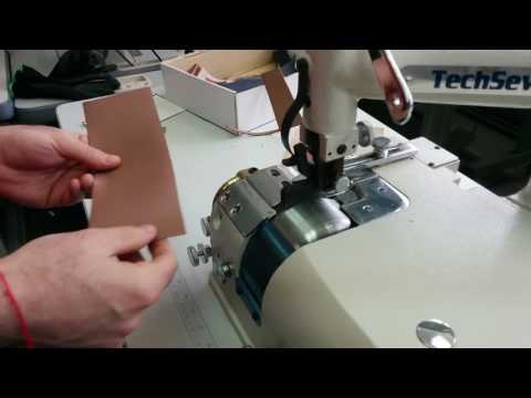 Techsew SK-4 Leather Skiving Machine - Sample MR 1/2