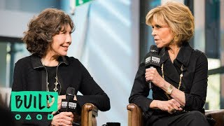 """Jane Fonda & Lily Tomlin Swing By To Discuss Their Netflix Series, """"Grace and Frankie"""""""