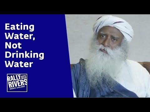 Eating Water, Not Drinking Water | Sadhguru