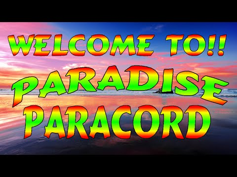 Welcome To Paradise Paracord