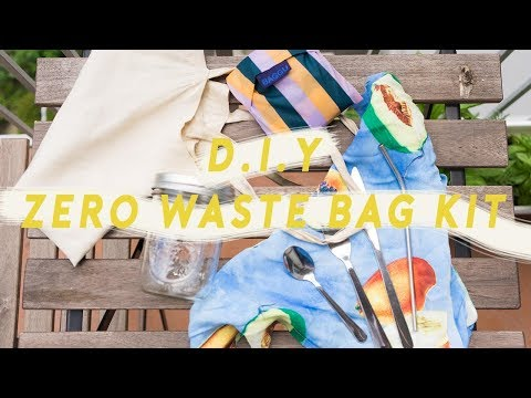 D.I.Y. Starter 'Zero Waste' Kit for Your Daily Bag