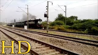 KJM'S ALCO CHUGGS MERRILY WITH 12252 WAINGANGA EXPRESS AT BHILAI POWER HOUSE