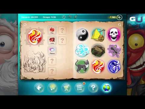 Doodle God - How to Create Lava, Dust, Energy, Ash & Storm Elements