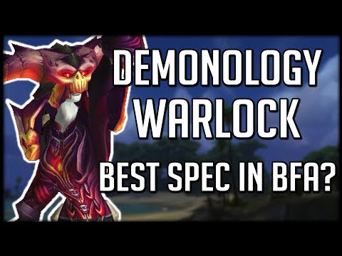 DEMONOLOGY WARLOCK CLASS CHANGES - Most Fun Spec In BFA? | WoW Battle for Azeroth
