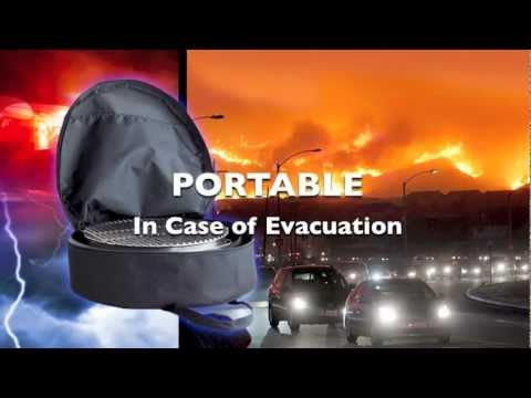 .Volcano Portable Grill Commercial - Short