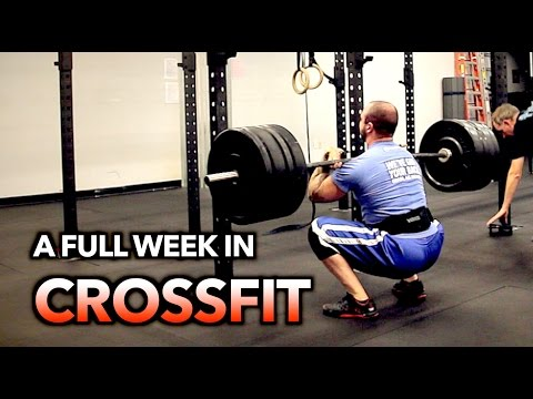 WHAT A FULL WEEK in CROSSFIT LOOKS LIKE with Bignoknow